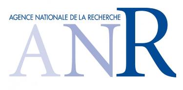 Agence nationale de la recherche - ANR